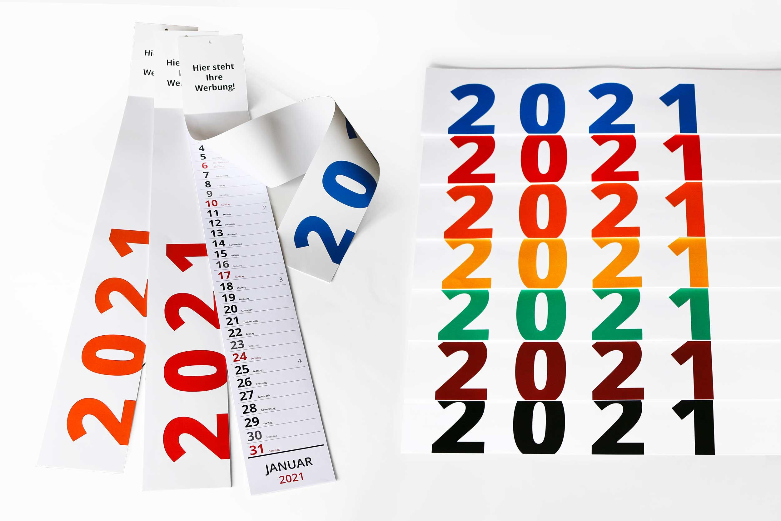Kalendershop - Streifenkalender L680