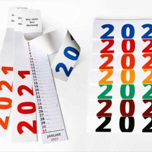 Kalendershop - Streifenkalender L680 - Produktbild
